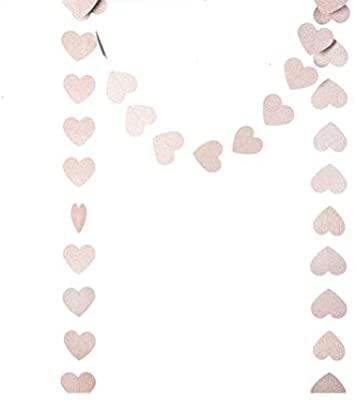 Rose Gold Kalp Sarkıt Süs